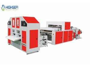 HSLB-450X2 Poly Bag Manufacturing Machine