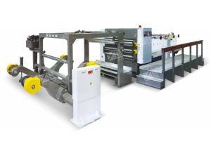 GDJ-1400A Double layers High speed rotary paper cutting machine