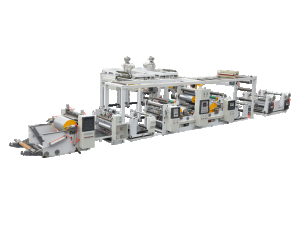 MS-FA-900 Double extrusion laminating machine