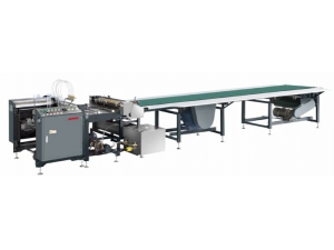 Semi Automatic Paper Gluing Machine