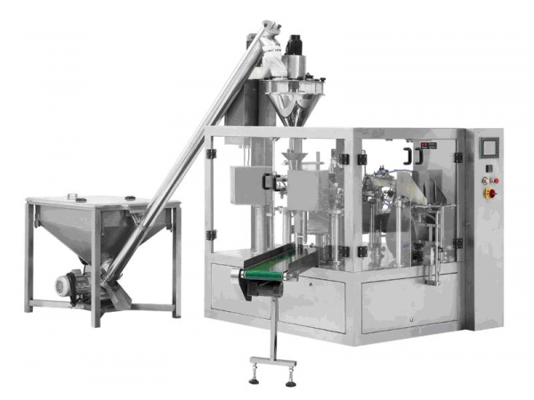 Powder Packaging Machine For Premade Bag