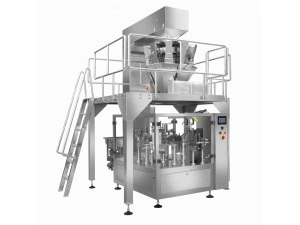 Solid Packaging Machine For Premade Bag