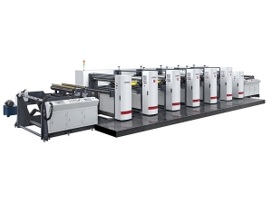 High-Speed Flexo Printing Machine