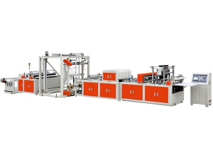 Non-woven Box Type Bag Making Machine, WFB-B600