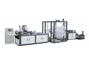 Non-woven Flat Type Bag Making Machine, WFB-D600