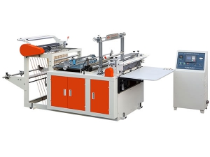 Heat Sealing and Cool Cutting Plastic Bag Making Machine, XD-FQ600
