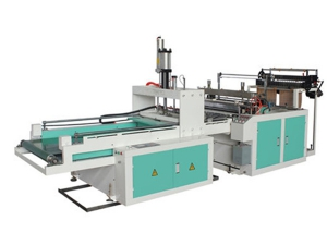Fully Automatic Double Channel Plastic T-shirt Bag Making Machine, XD-PT800