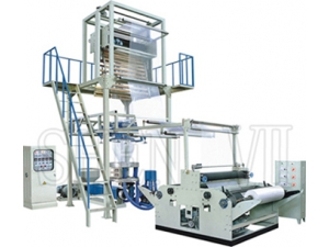 Plastic Blown Film Extrusion Machine