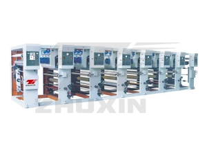 Six Color Gravure Printing Machine