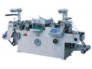 Adhesive Label Die Cutting Machine