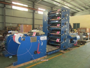 1~10 Color Flexo Printing Machine