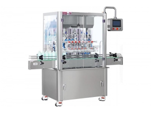 Piston Filling Machine for Liquid Packaging